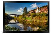 The Iron Bridge, Framed Print