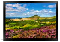 Roseberry Heather, Framed Print