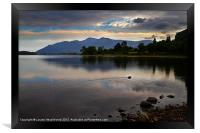Skiddaw and Derwentwater from Kettlewell, Framed Print