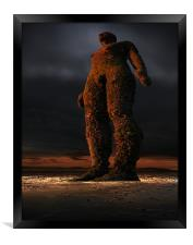Giant of another place, Framed Print