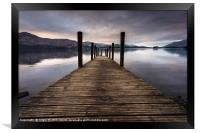 The Launch, Framed Print