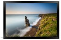 Liddle Stack Seaham v3, Framed Print
