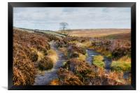 Bronte Country, Yorkshire, Framed Print