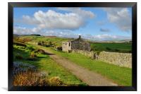 Ruins on the Bronte Way, Framed Print