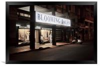 Quite night at Blooming Dales Goa, Framed Print