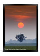 A perfect alignment., Framed Print