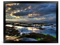 Seahouses Northumberland, Framed Print