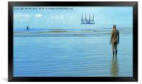 Time Passing (Digital Painting), Framed Print