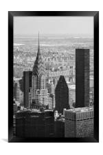 NYC Cityscape, Framed Print