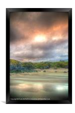 Durness Beach at Sunset, Framed Print