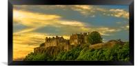 Stirling Castle at Dusk, Framed Print