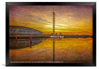 PS The Waverley at Sunset, Framed Print
