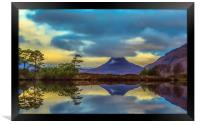 Stac Polly in the Highlands, Framed Print