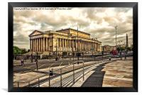 St Georges Hall - Liverpool, Framed Print