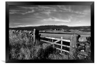 Gateway to Stanage Edge, Framed Print