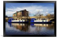 Victoria Quays, Sheffield, Framed Print