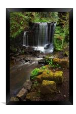 Upper Cut Wheel, Rivelin, Framed Print
