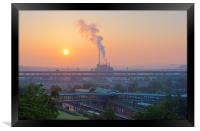 Tinsley Sunrise, Framed Print