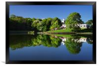Crookes Valley Park Mirror Image, Framed Print
