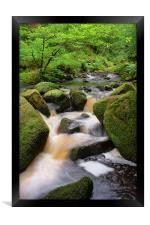 Wyming Brook Falls 2, Framed Print