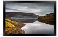 Ladybower Tranquility , Framed Print
