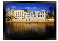 York Guildhall & River Ouse, Framed Print