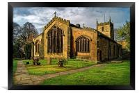 St James Church, Norton, Sheffield  , Framed Print