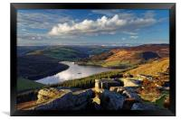 Ladybower & Derwent Valley, Framed Print