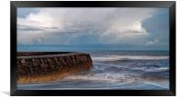 Lyme Bay Seascape                      , Framed Print
