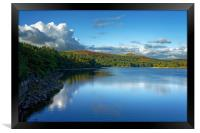Burrator Reflections                              , Framed Print