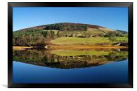 Ladybower Reflections                      , Framed Print
