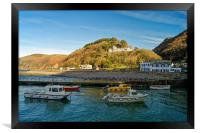 Lynmouth Harbour                         , Framed Print