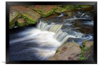 Rivelin Falls                               , Framed Print