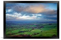 Hope Valley View                               , Framed Print