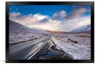 The Road to Skye , Framed Print