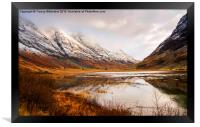 Reflections of Winter, Framed Print