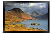 Wast Water , Framed Print