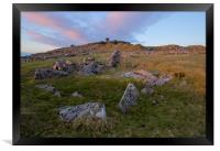 Stowes Hill on Bodmin Moor , Framed Print