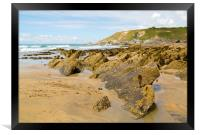Dollar Cove Gunwalloe, Framed Print