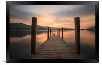 Ashness Jetty Derwent Water, Framed Print