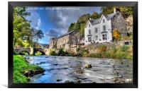 Autumn At Beddgelert , Framed Print