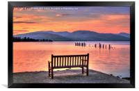 View From The Bench, Framed Print