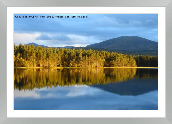 Buy Framed Mounted Prints of Loch Garten, Cairngorms National Park, Scotland    by Chris Petty