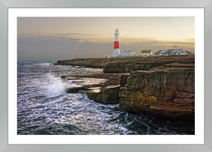Buy Framed Mounted Prints of Portland Lighthouse at Sunset                      by Darren Galpin