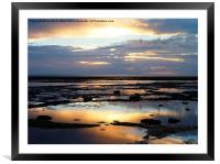 Bembridge Dawn, Framed Mounted Print