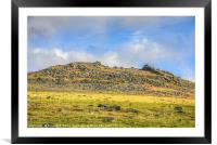 Rough Tor, Framed Mounted Print