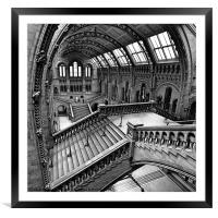 London, The Escher View, Framed Mounted Print