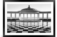 Scarborough Spa, UK, Framed Mounted Print