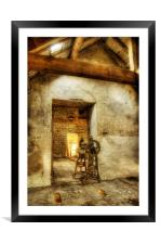 Ravages of Time, Framed Mounted Print