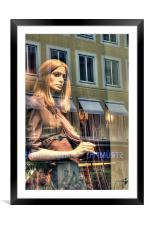 Reflecting, Framed Mounted Print